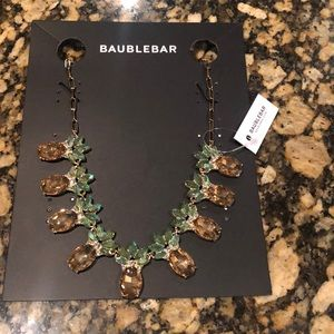 NWT Baublebar Pina Pineapple Statement Necklace